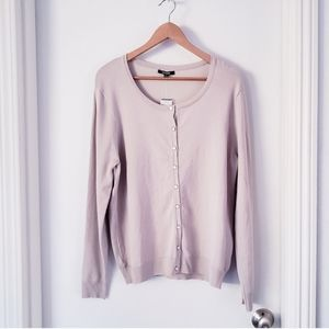 NWT Premise Size L Tan colored Sweater  Cardigan